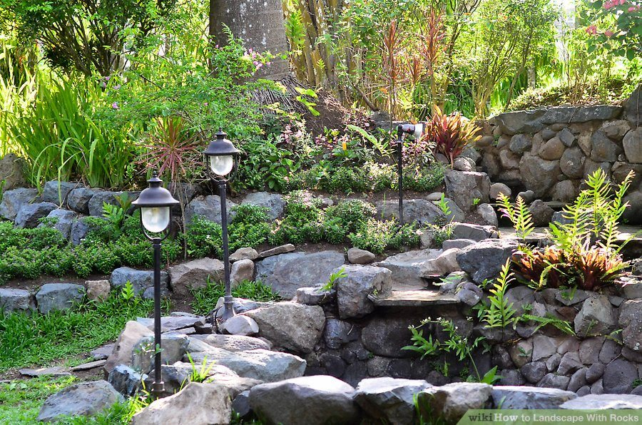 Orlando Landscaping With Boulders and Rocks