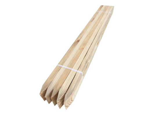 Wooden Stakes Roedells Landscaping